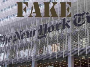 fake New York Times