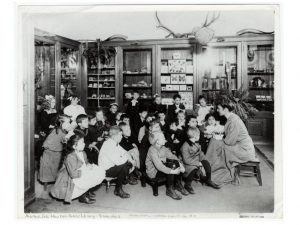 children at the Webster Branch, NYPL