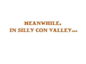 silly con valley