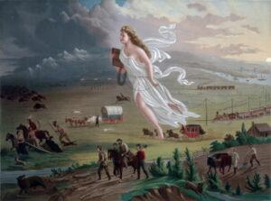 John Gast's painting, American Progress